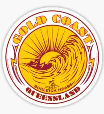 GOLDCOAST, QUEENSLAND, SURFING Sticker