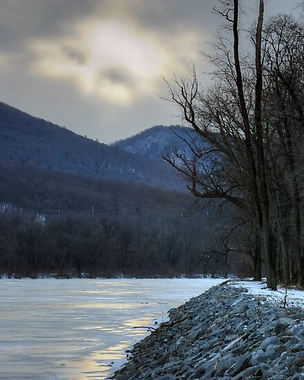 God Looked Down Upon The Frozen Earth by Gene Walls