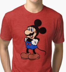 Super Mickey Brother Tri-blend T-Shirt