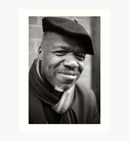 Etienne: Jazz Singer Art Print
