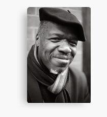 Etienne: Jazz Singer Canvas Print