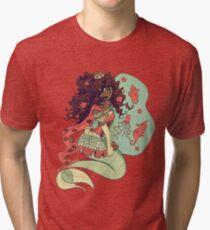 Mermaid Princess Tri-blend T-Shirt