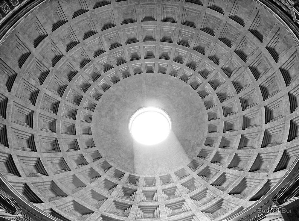 Pantheon Dome by Beth DeBor