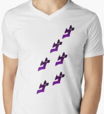 Jojo's Bizarre Adventure Menacing Men's V-Neck T-Shirt