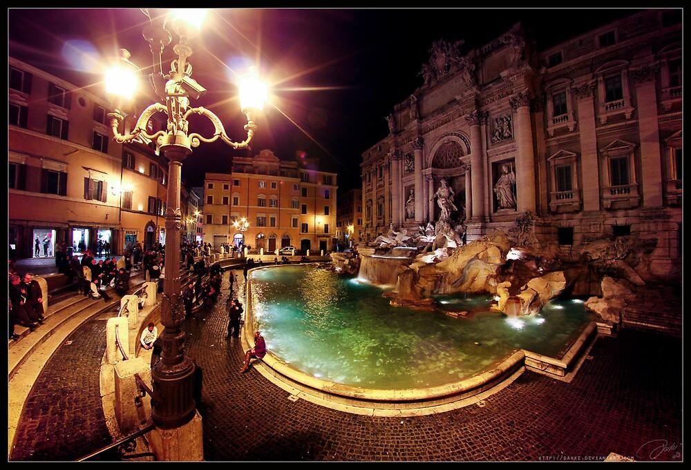 Fontana Di Trevi by Daniel G.