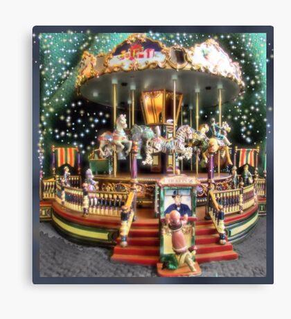 Carousel Fantasy Canvas Print