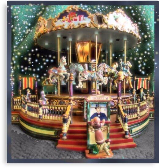 Carousel Fantasy by Brenda Dahl