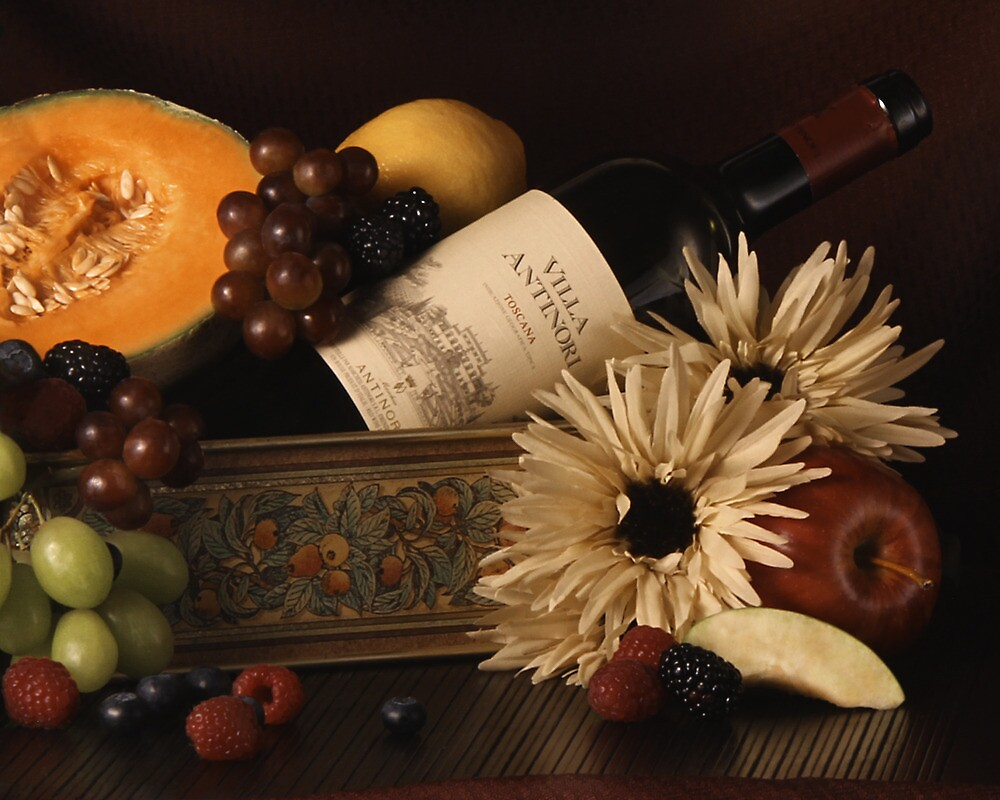 Fruit and Wine by Valerie Burke