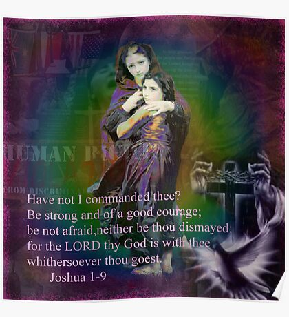 Joshua 1-9 Poster