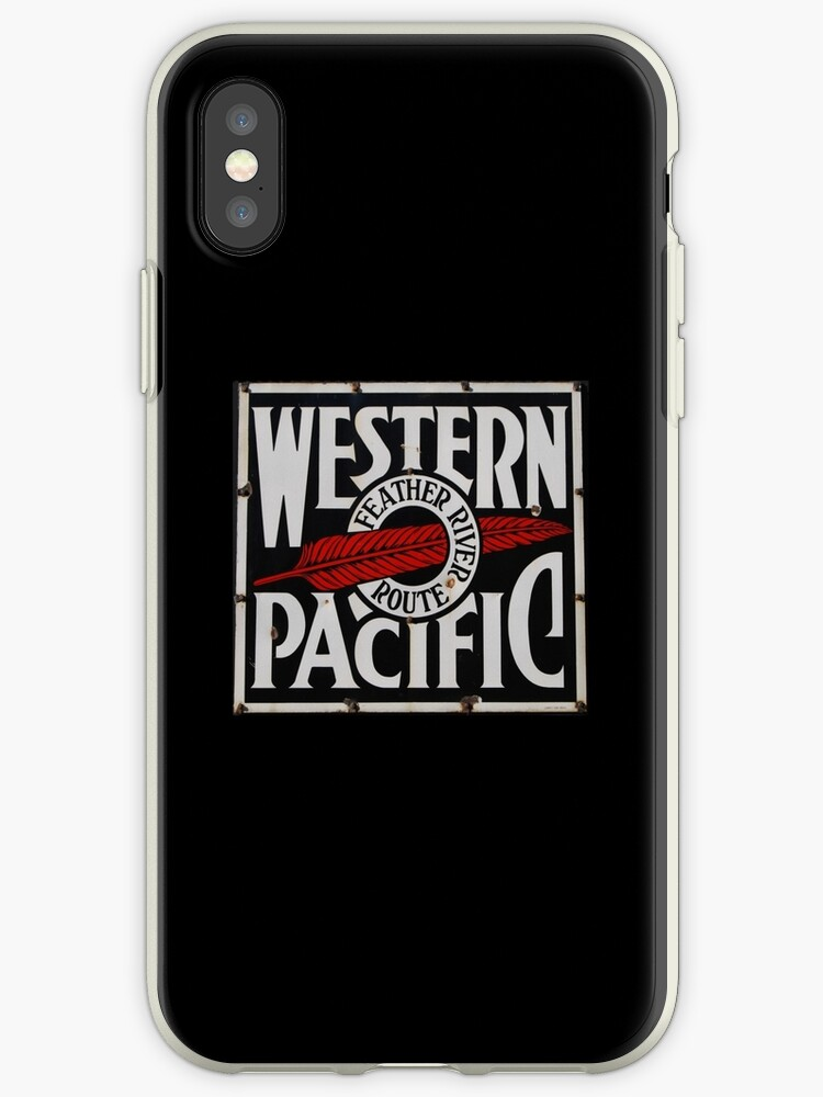 Western Pacific Railroad iPad, iPhone, & iPod Case by Ronald Hannah