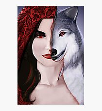 Ruby the wolf. Photographic Print