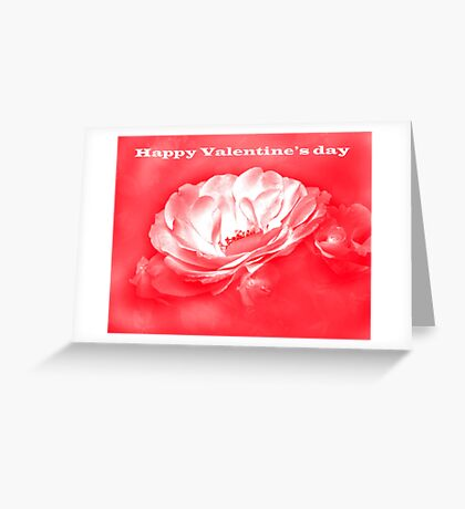Beauty in the Mist - Valentine's day card Greeting Card