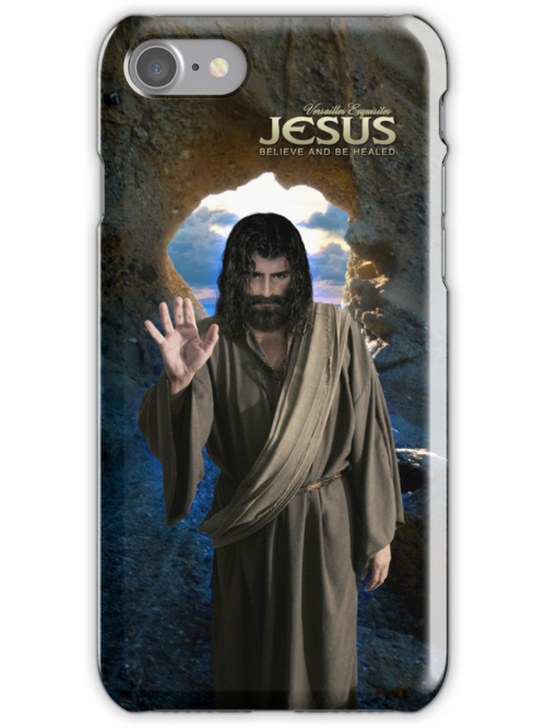 Jesus: Believe and be healed (iPhone/iPod Case) by Angelicus