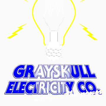 Grayskull Electricity Co. by B4DW0LF