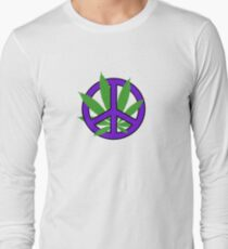 Cannabis - Peace Long Sleeve T-Shirt