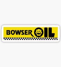 Mario Kart 8 Boswer Oil Sticker