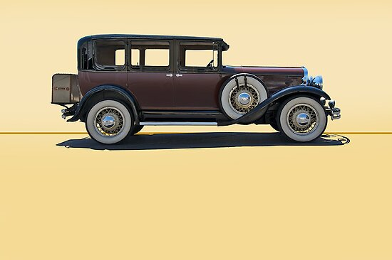 1930 Franklin Airman 145 Deluxe Sedan w/o ID by DaveKoontz