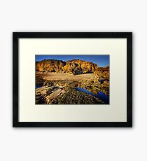 Rocky Point at Torquay Framed Print