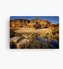 Rocky Point at Torquay Canvas Print