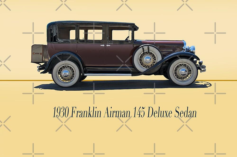 1930 Franklin Airman 145 Deluxe Sedan w/ ID by DaveKoontz