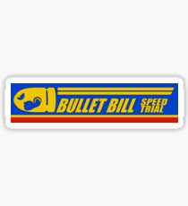 Mario Kart 8 Bullet Bill Sticker
