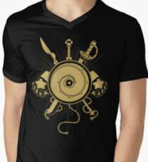Gems Weapons T-shirt col V homme