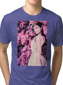 Audrey Hepburn- Queen of Kindness Tri-blend T-Shirt