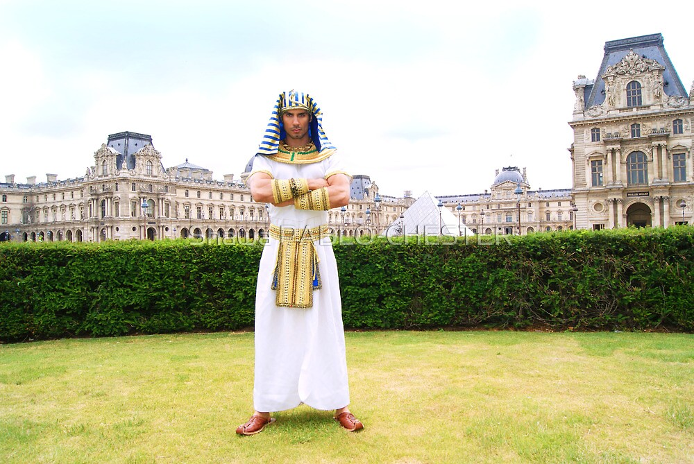Louvre pharao by pablo-chester