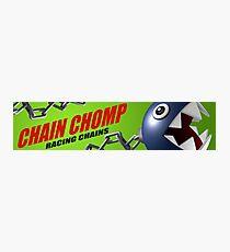 Mario Kart 8 Chain Chomp Photographic Print