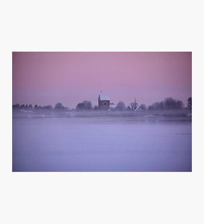 Floating church Photographic Print