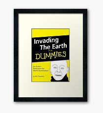 Dr Who Auton Joke Framed Print