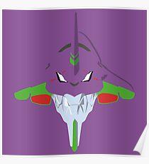 Evangelion Minimalistic Design Poster