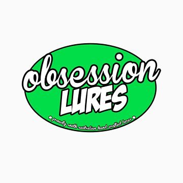 Obsession Lures T-Shirt by fishingsa