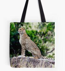 Cheeta in Masai Mara Tote Bag