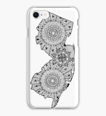 Graphic States - New Jersey (full) iPhone Case/Skin