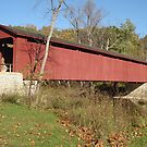 Cataract Covered Bridge by HKBlack