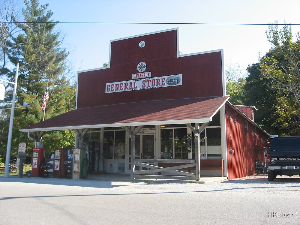 Cataract General Store by HKBlack