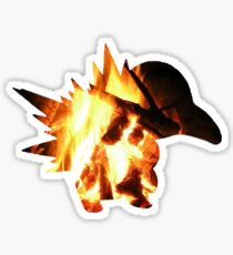 Cyndaquil used Ember Sticker