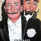 Salvador Dali by Tom Roderick