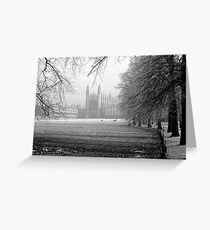 King's College Chapel, Cambridge Greeting Card