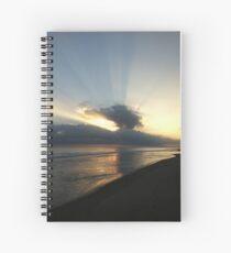 Papamoa Sunrise Spiral Notebook