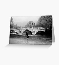 The Backs, Cambridge, 1962 Greeting Card