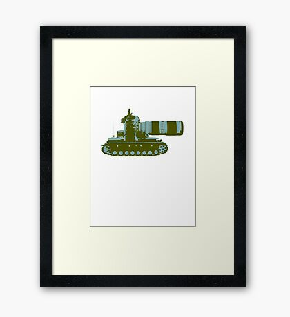 Say Cheese Framed Print