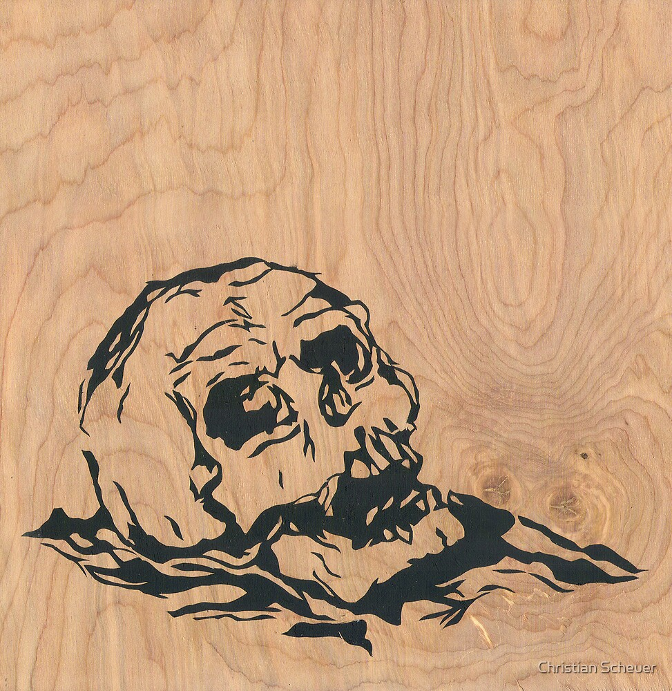 skull 4 by Christian Scheuer