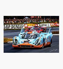 Porsche 917 at Le Mans Photographic Print