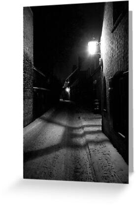 Winter Gaslight, Cambridge, 1963 by NevilleNewman