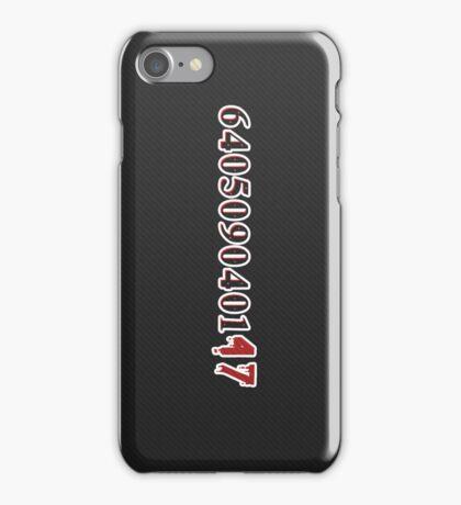 640509040147 iPhone Case/Skin