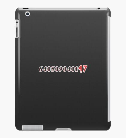 640509040147 iPad Case/Skin