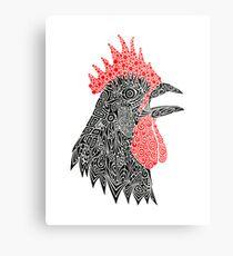 Cock-A-Doodle Metal Print