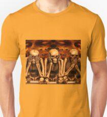 see no evil, hear no evil... Unisex T-Shirt